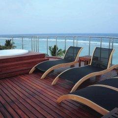 Airport Beach Hotel 3* Номер Делюкс фото 11