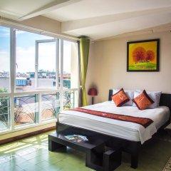 Отель Vietnam Backpacker Hostels - Downtown Стандартный номер с различными типами кроватей фото 4