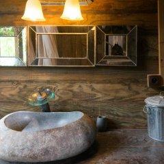 Отель Chalet de tahiti Французская Полинезия, Пунаауиа - отзывы, цены и фото номеров - забронировать отель Chalet de tahiti онлайн ванная