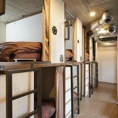 SAMURAIS HOSTEL Ikebukuro Кровать в общем номере с двухъярусной кроватью