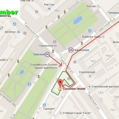 Гостиница Hostel Cucumber в Москве 2 отзыва об отеле, цены и фото номеров - забронировать гостиницу Hostel Cucumber онлайн Москва городской автобус