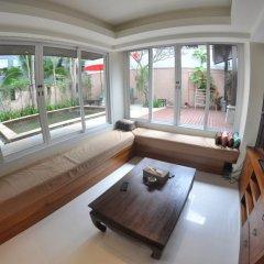 Отель Baan Khao Hua Jook 3* Вилла с различными типами кроватей фото 23