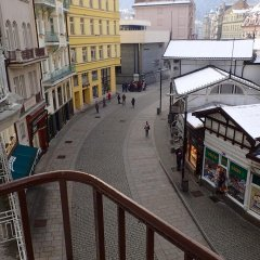 Отель in City Center - MORASSI Чехия, Карловы Вары - отзывы, цены и фото номеров - забронировать отель in City Center - MORASSI онлайн балкон