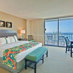 Отель Waikiki Beachcomber by Outrigger 3* Стандартный номер с различными типами кроватей фото 9