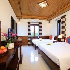 Отель Quang Xuong Homestay 2* Стандартный номер с различными типами кроватей фото 4