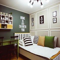 Отель Han River Guesthouse 2* Студия с различными типами кроватей фото 13