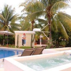 Отель Villa Tulum Hotel Италия, Рим - отзывы, цены и фото номеров - забронировать отель Villa Tulum Hotel онлайн бассейн фото 3