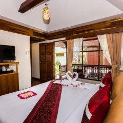 Курортный отель Lamai Coconut Beach 3* Бунгало с различными типами кроватей фото 26