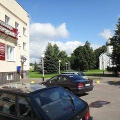 Гостиница Новгородская парковка