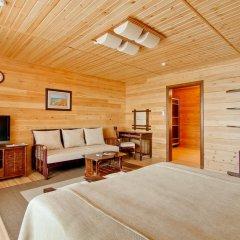 Гостиница Золотая бухта Улучшенное бунгало с различными типами кроватей фото 3