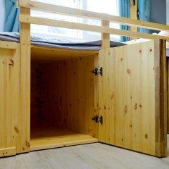 Отель I'm Green House 3* Кровать в общем номере с двухъярусной кроватью фото 11