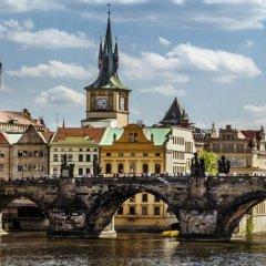 Budget Hostel Прага приотельная территория фото 2
