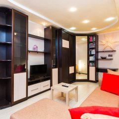 Апартаменты Begovaya Apartment Москва комната для гостей фото 2