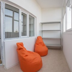 DimAL Hostel Almaty Кровать в мужском общем номере двухъярусные кровати фото 4