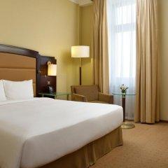 Гостиница Hilton Москва Ленинградская 5* Гостевой номер Hilton с двуспальной кроватью фото 7