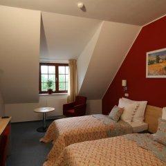 Hotel Chvalská Tvrz 3* Стандартный номер с различными типами кроватей фото 3