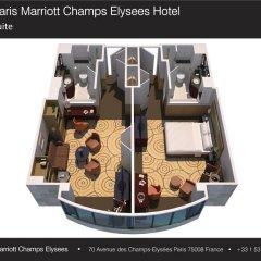 Paris Marriott Champs Elysees Hotel 5* Люкс фото 4