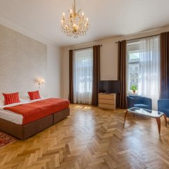 Апартаменты Apartments 39 Wenceslas Square Улучшенные апартаменты с различными типами кроватей фото 12