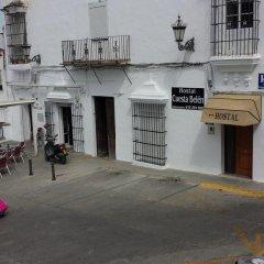 Отель Hostal Cuesta de Belén парковка