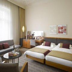 K+K Hotel Central Prague 4* Представительский номер с разными типами кроватей фото 8
