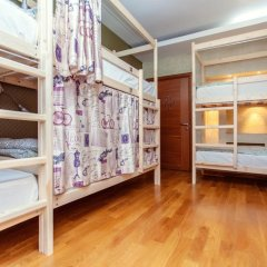 Luxury Hostel Кровать в мужском общем номере