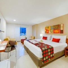 Отель MS Chipichape Superior 3* Улучшенный номер с различными типами кроватей фото 3