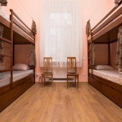 Центро Хостел Кровать в общем номере с двухъярусными кроватями фото 3