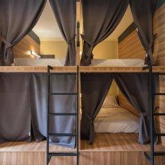 Fin Hostel Co Working Кровать в общем номере с двухъярусной кроватью фото 8