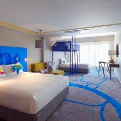 Отель ibis Styles Bangkok Khaosan Viengtai 3* Стандартный семейный номер с разными типами кроватей фото 9