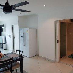 Отель Vtsix Condo Service at View Talay Condo Апартаменты с различными типами кроватей фото 17