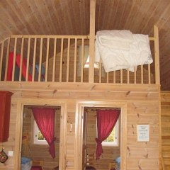 Отель Røldal Hyttegrend & Camping Коттедж с различными типами кроватей фото 4