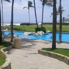 Отель Mayan Departamento TORRE I бассейн