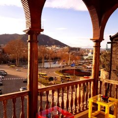 Tiflis Metekhi Hotel 3* Стандартный номер с 2 отдельными кроватями фото 8