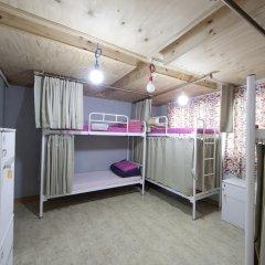 Lazy Fox Hostel Кровать в общем номере с двухъярусной кроватью фото 6