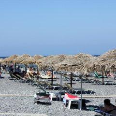 Отель Adonis Греция, Остров Санторини - отзывы, цены и фото номеров - забронировать отель Adonis онлайн пляж фото 2