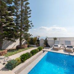 Отель Santorini Secret Suites & Spa 5* Вилла Junior с различными типами кроватей фото 18
