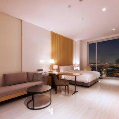 Hotel ENTRA Gangnam 4* Люкс с различными типами кроватей фото 11