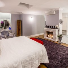 Отель Apartamenty Ambasada Улучшенные апартаменты с различными типами кроватей фото 11
