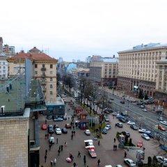 Гостиница Partner Guest House Khreschatyk 3* Улучшенные апартаменты с различными типами кроватей фото 10