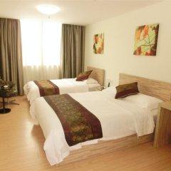 Guangdong Baiyun City Hotel 3* Стандартный семейный номер с двуспальной кроватью фото 3