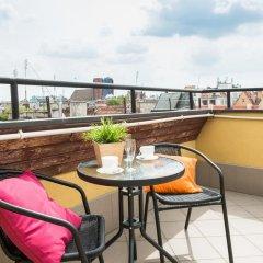 Отель LeoApart Апартаменты с различными типами кроватей фото 30