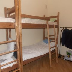 Томас Хостел Кровать в общем номере с двухъярусной кроватью фото 14