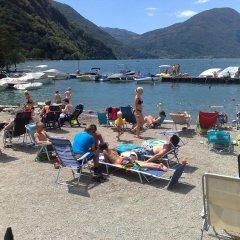 Отель Sunwaychalets Lago di Lugano Порлецца пляж