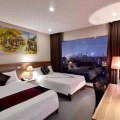 Hanoi Eternity Hotel 3* Номер Делюкс с различными типами кроватей фото 12