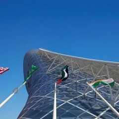 Отель Andaz Capital Gate Abu Dhabi - A Concept By Hyatt Абу-Даби спортивное сооружение