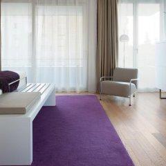 Отель NH Collection Madrid Eurobuilding 4* Стандартный номер с различными типами кроватей фото 5