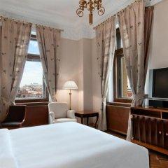 Гостиница Hilton Москва Ленинградская 5* Представительский люкс с различными типами кроватей фото 4
