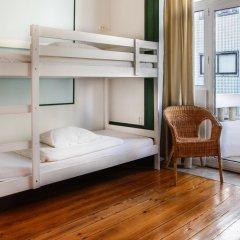 Oporto City Hostel Кровать в общем номере двухъярусные кровати фото 13