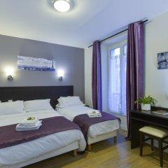 Отель Hôtel du Quai de Seine 2* Стандартный номер с различными типами кроватей фото 8