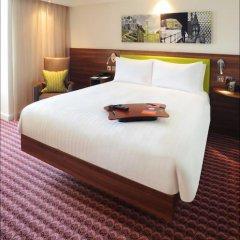 Отель Hampton by Hilton Luton Airport 3* Стандартный номер с различными типами кроватей фото 4